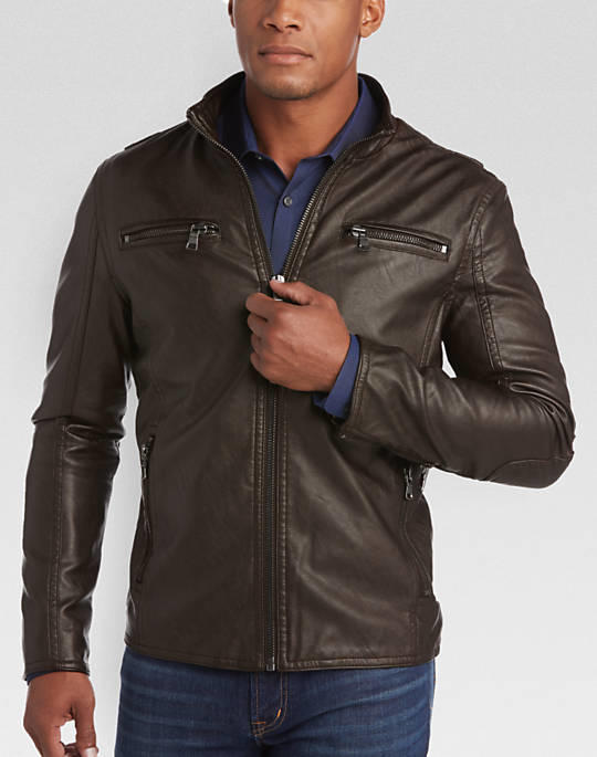 What leather jacket looks better?