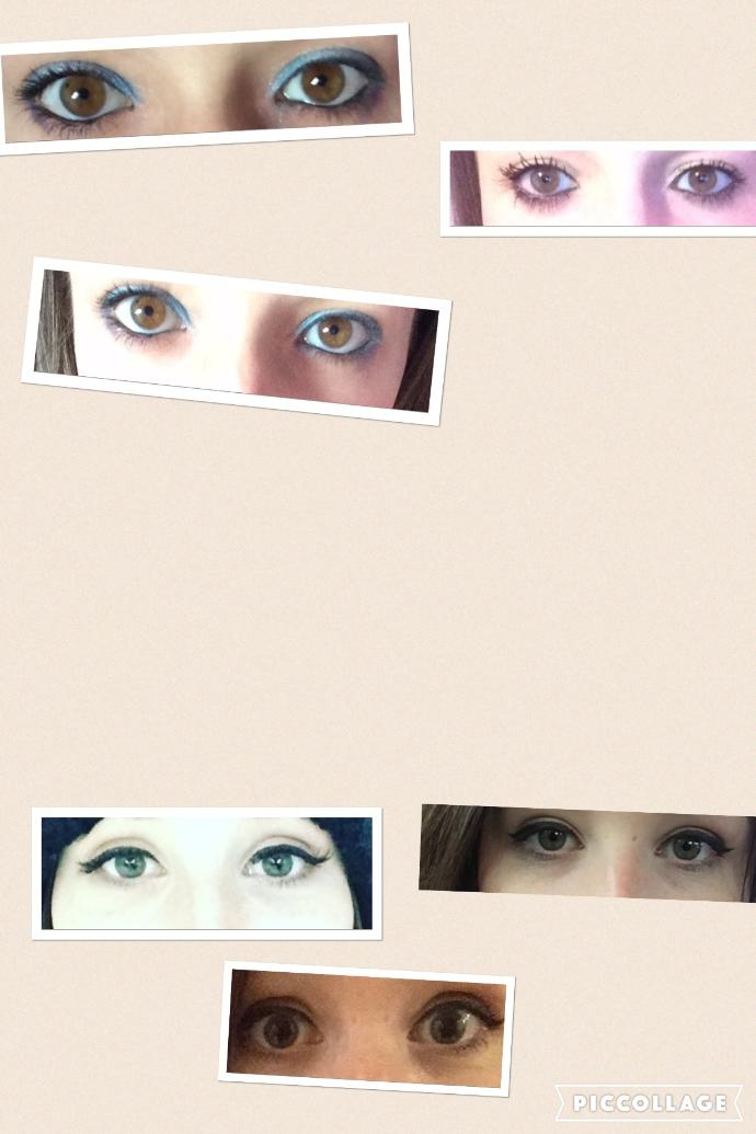 Which OF THESE eye colours do you like most...? Looking for MHO?