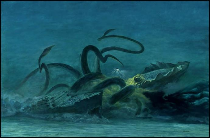 Who do you think is the greatest mythological sea creature; Kraken or Leviathan?
