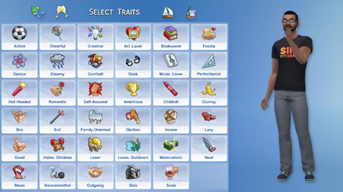 Do you play sims? if so what are your personality traits?