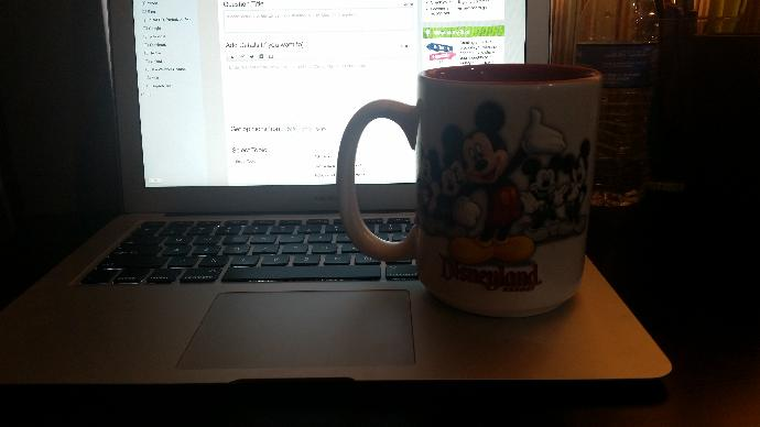 How alpha is my coffee mug today (srs) ?