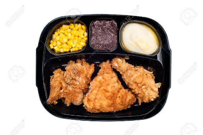 Should frozen chicken dinners include gravy?