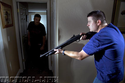 Do believe in defending your home from intruders?