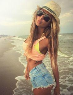 Lady's which beach outfit will look cute for the summer? Guy's which beach outfit would you like to see a girl wear?