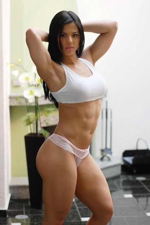 Do you like this type of body on women or is it too muscular for your tastes?