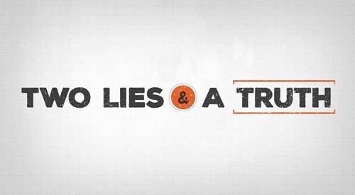Another - Two Lies and a Truth game?