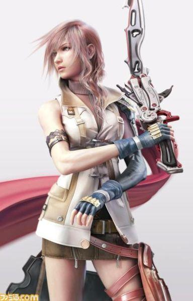 The baddest chick in the Final Fantasy games?