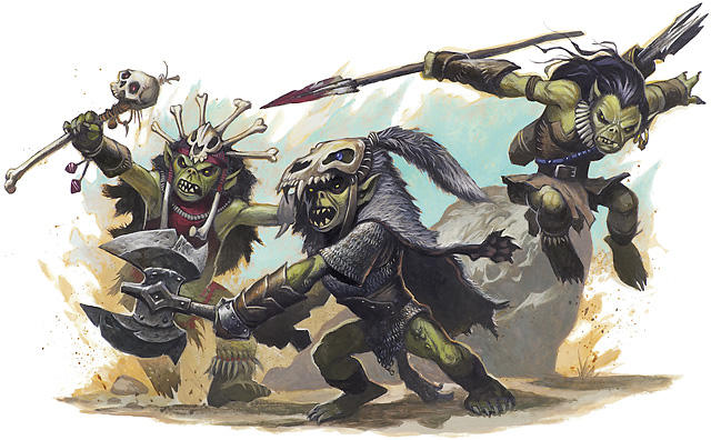 If GOBLINS were real and a couple tried harassing you, what would you do?