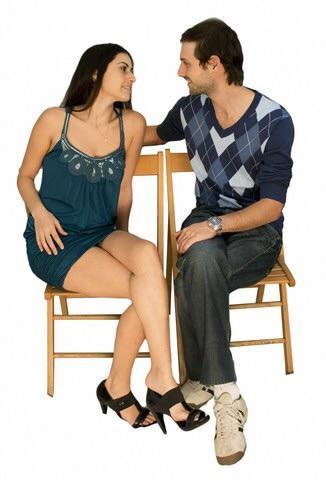 When a mean crosses her what it legs woman does Legs Spread