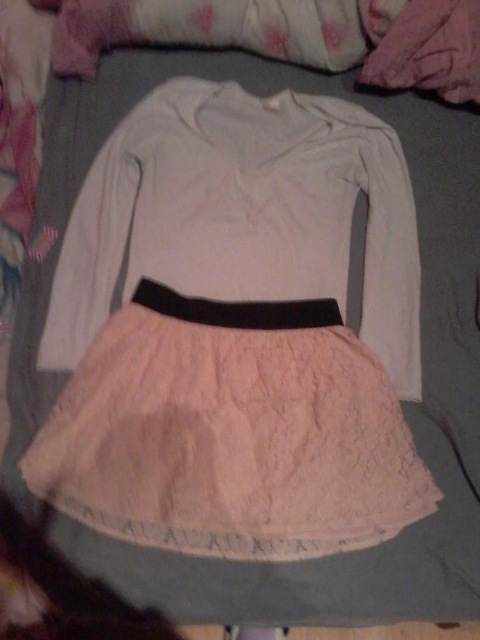 Which skirt looks better (pics)?