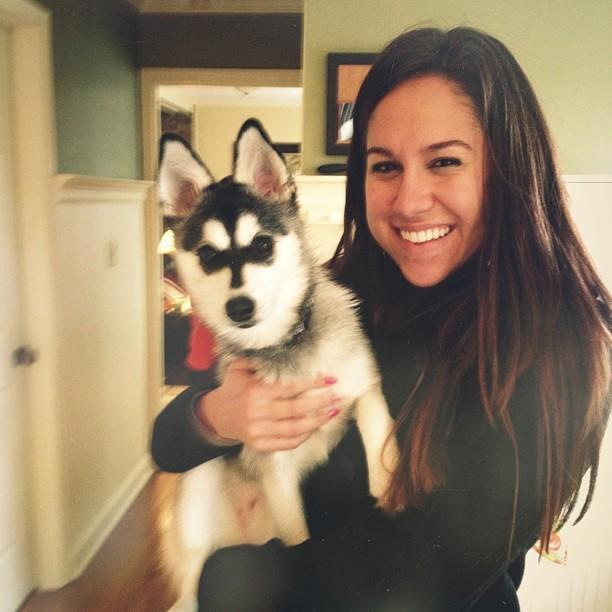 Like my new puppy?