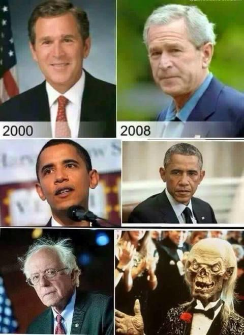 Are you ready for Bernie Sanders to be president? Are you feeling the Bern? Or is trump ready to stump? Post funny presidential memes?