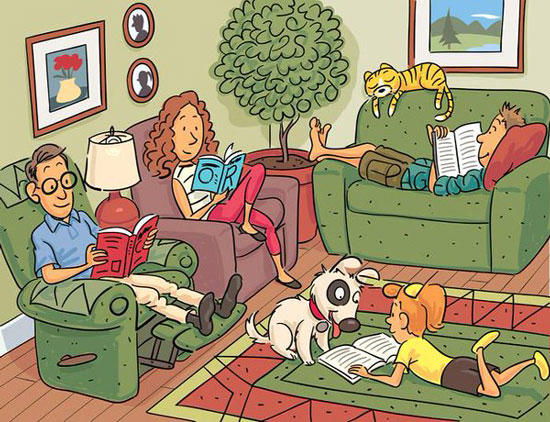 Can you see the 6 words in this picture ?