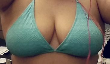 Does this swimsuit top look okay on my breasts?