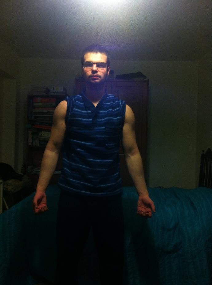 Girls, exactly how attractive are my arms?
