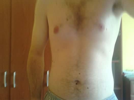 What is my body fat? Can anyone understand by looking at my topless picture?