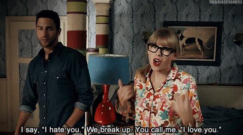 Are we never ever getting back together?