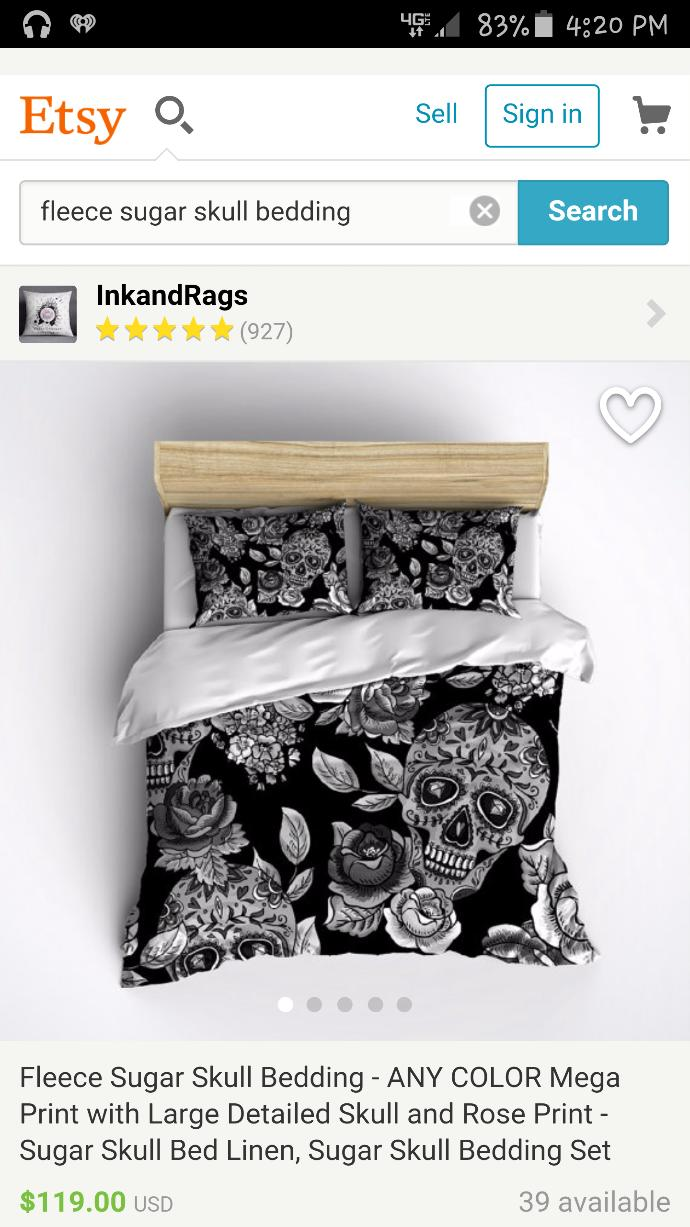 Do you like this phone case or bed set?