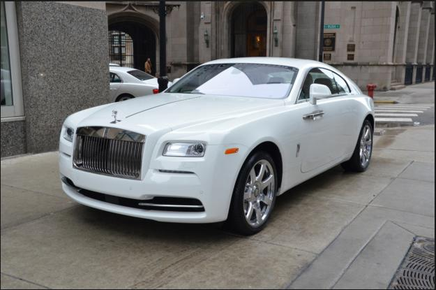White or Black Rolls Royce Wraith?