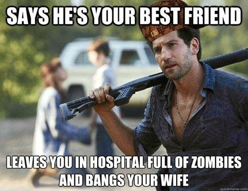 How awesome is the walking dead series?