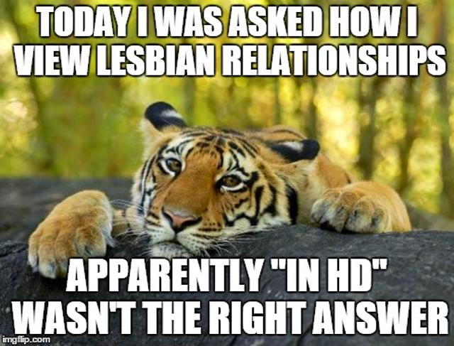 Is there a special way to tell if a girl is a lesbien?