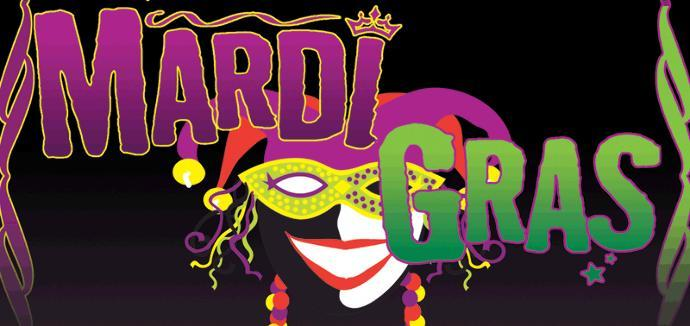 What you doing for Mardi Gras weekend?