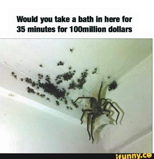 Would you bath in here for 35 minutes for 100 million dollars?