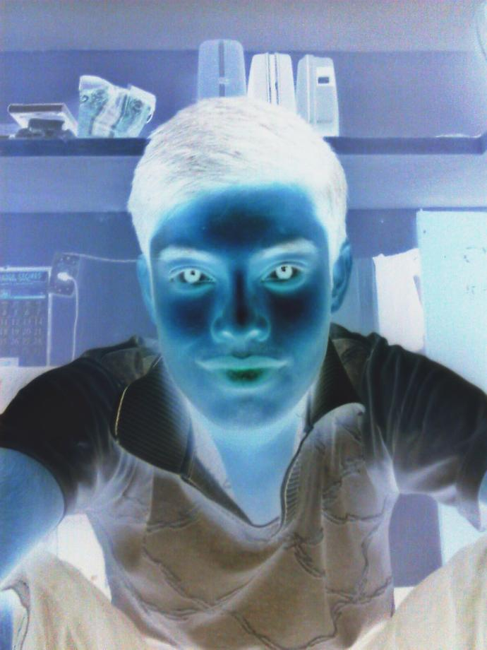 (PIC) Be Funny!!! How do I look in my negative♖ ♜? Is it scary☠☠☠?
