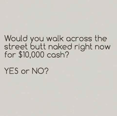 Be honest,  would you👇👇👇👇?