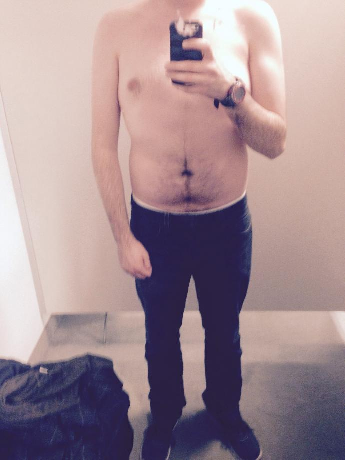 Girls, do I look out of shape? Does it look like I would have problems getting a fit girlfriend?
