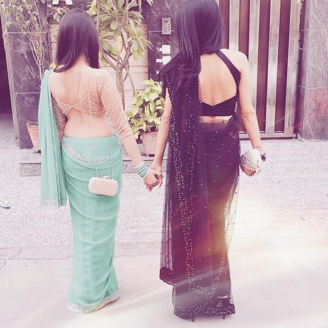 Who do you think has a better figure? And can you guess which one is me :p ?