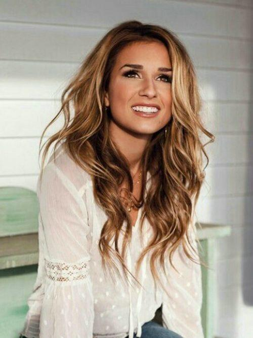 Guys, What do you think of caramel hair color?