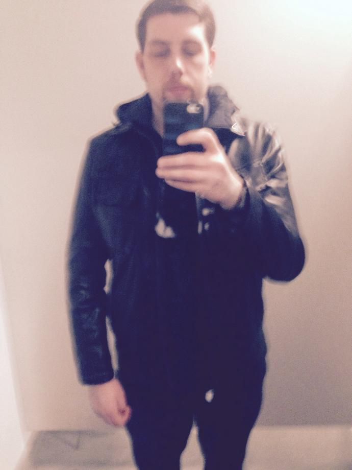 Should I buy this leather  jacket? Would I look good in it?