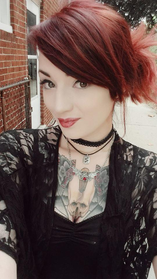 Do I look better with black or red hair??