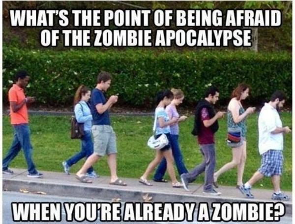 Is the zombie apocalypse here?