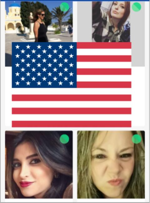From these four female dating site users, whom are my highest %matches...which 1 should I message, out of the four?