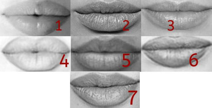 Which lips are the sexist?