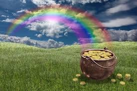 What is at the end of the RAINBOW?