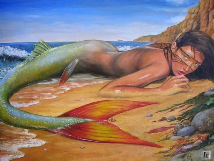 Why are there so many mermaid legends from around the world?