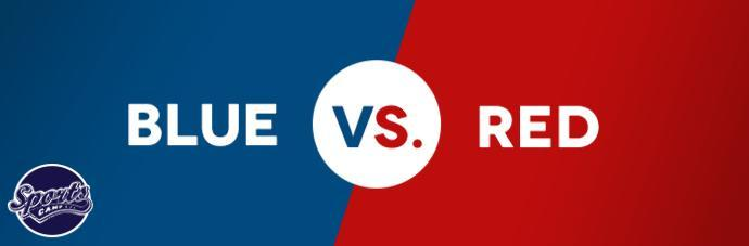 Today, in my country we have a big football game. Who do you think will win? Red or Blue guys?