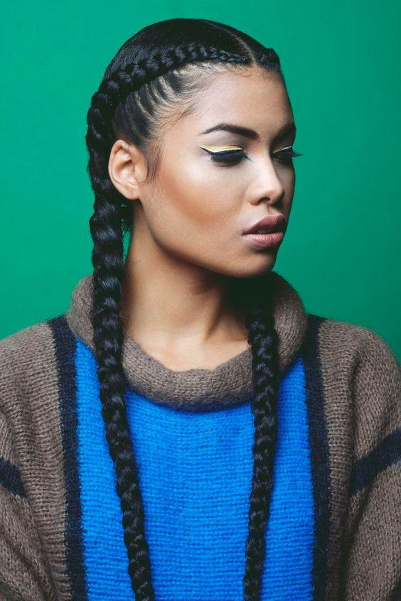 Who looks best with braids?
