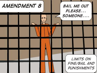 Do you think American is going against the 8 amendment by locking people up for child support, and unpaid fines?