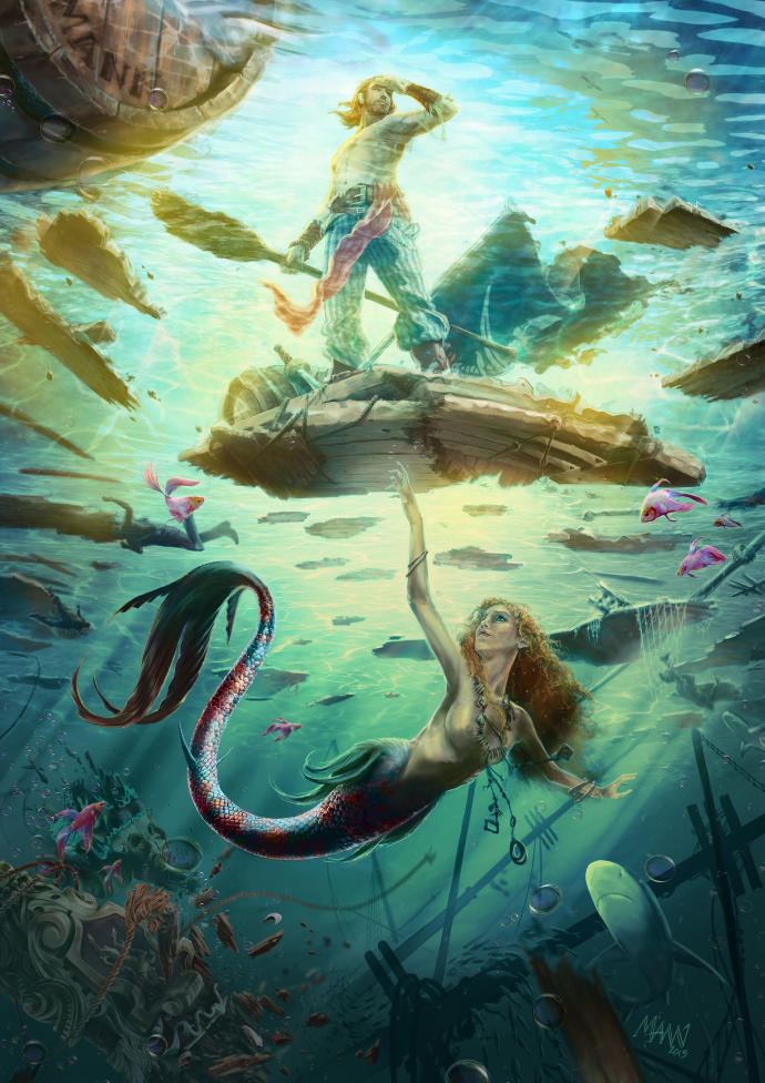 Girls, If you were a mermaid, what kind of guy do you think you'd fall in love with?
