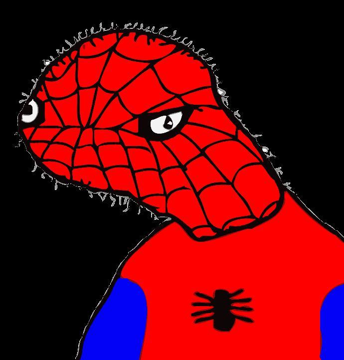 We know there are Spiderman movies, but when will they make a Spoderman movie? Could this be the first movie based on MS paint comic?