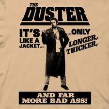 Girls, what do you think of guys wearing a duster jacket?