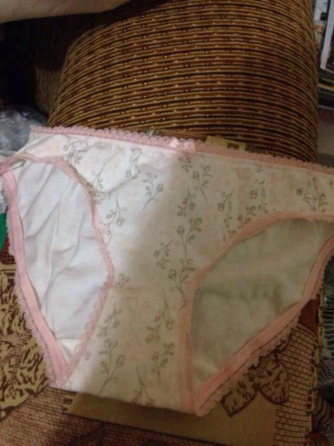I'm gonna wear this panties today with a mini skirt, what do you think of it? Is it cute?