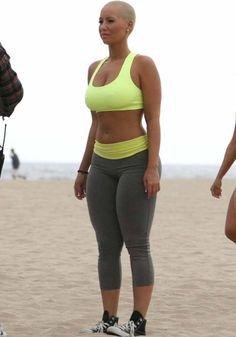 Do I have a figure like Amber Rose? Or am I larger (as in chubbier)?