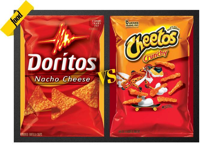 Cheetos VS. Doritos?