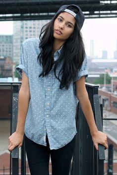 Do you like the look of snapbacks worn backwards on girls?