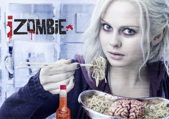 Is the chick from iZombie (Rose McIver) Cute, sexy, or average?